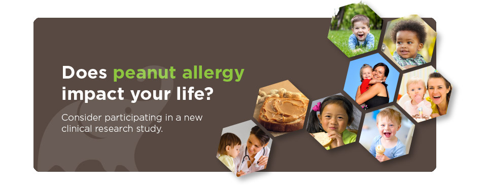 A clinical research study of peanut allergy in young children